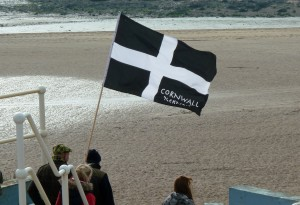 The beautiful cornish Flag