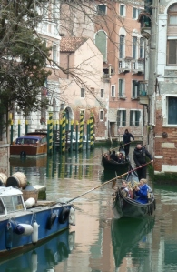 Gondolas in a Quieter Area.