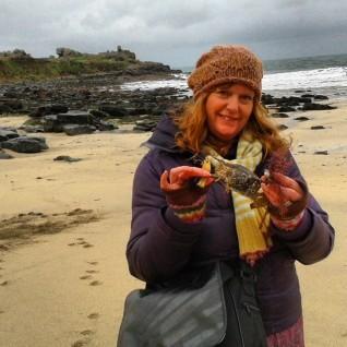 Mermaid Purse at Porthmeor Beach, Sue Read Artist