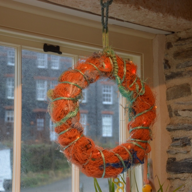 Wreath at Boscastle