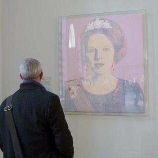 Queen Beatrix, Andy Warhol 1985