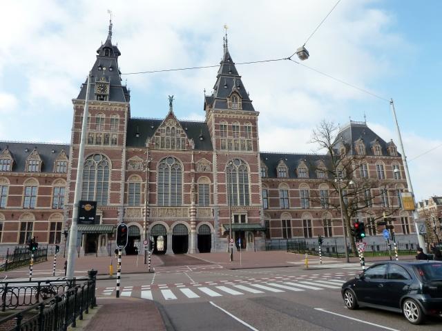 Front of Rijksmuseum