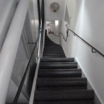 Steep stairs!