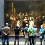 Magnificent Night Watch by Rembrandt