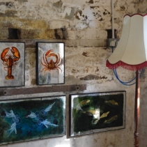 Danni Bradford, silver artwork