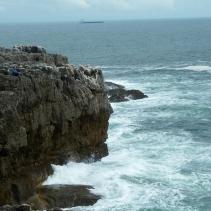 Precarious fishing