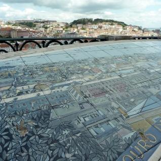 Tiles map from Gloria Miradoura
